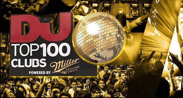 DJ Mag Top 100 Clubs powered by Miller Genuine Draft 2016