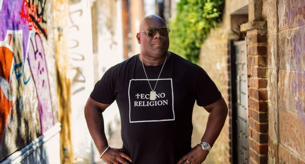 Carl Cox is playing a semi-modular live show online today