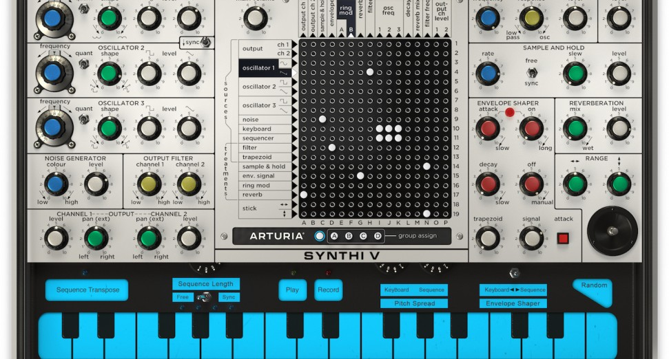 Arturia V Collection 7 EMS Synthi